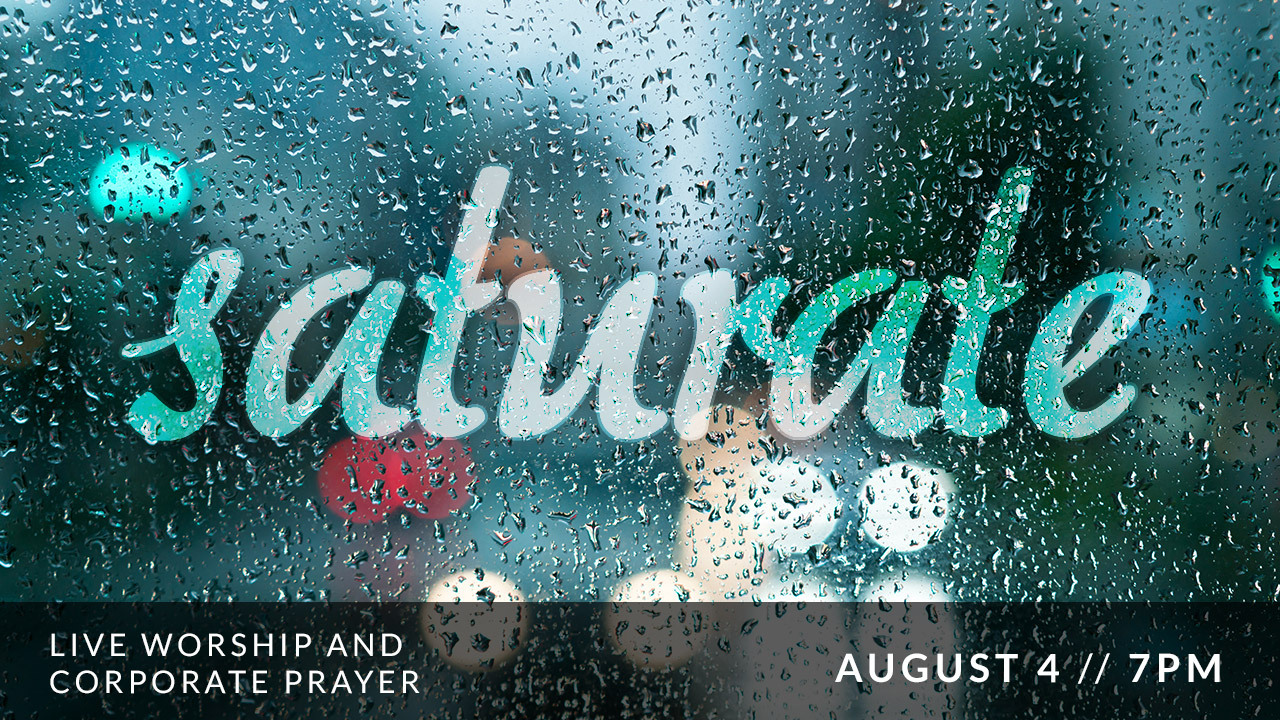 Saturate Aug 4